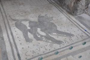 Cave Canem - Pompei