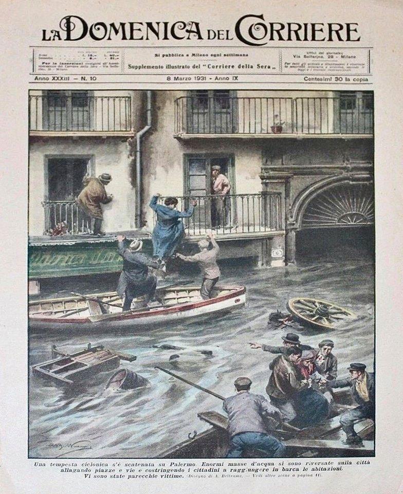 Palermo e la sua lunga storia di alluvioni - Il Centuplo