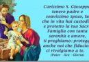 San Giuseppe ci insegna ad aver cura degli altri