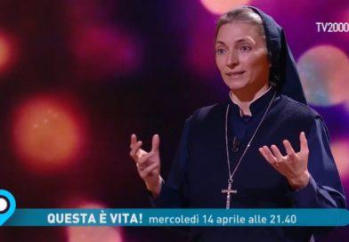"""Testo e video dell'intervento di Suor Tiziana a """"Questa è vita"""" su Tv2000"""