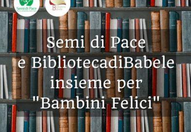 """""""Bambini felici"""" anche grazie ai libri de La Biblioteca di Babele"""